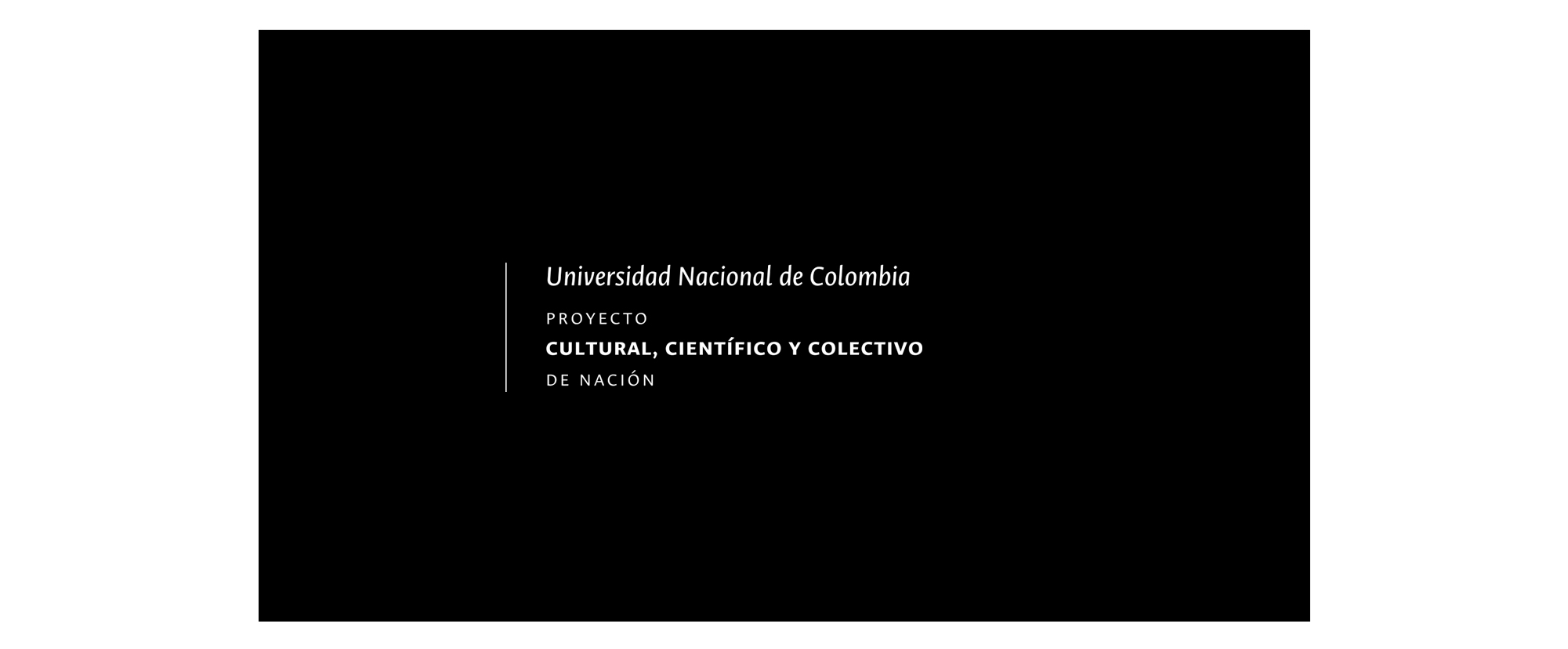 Eslogan Institucional