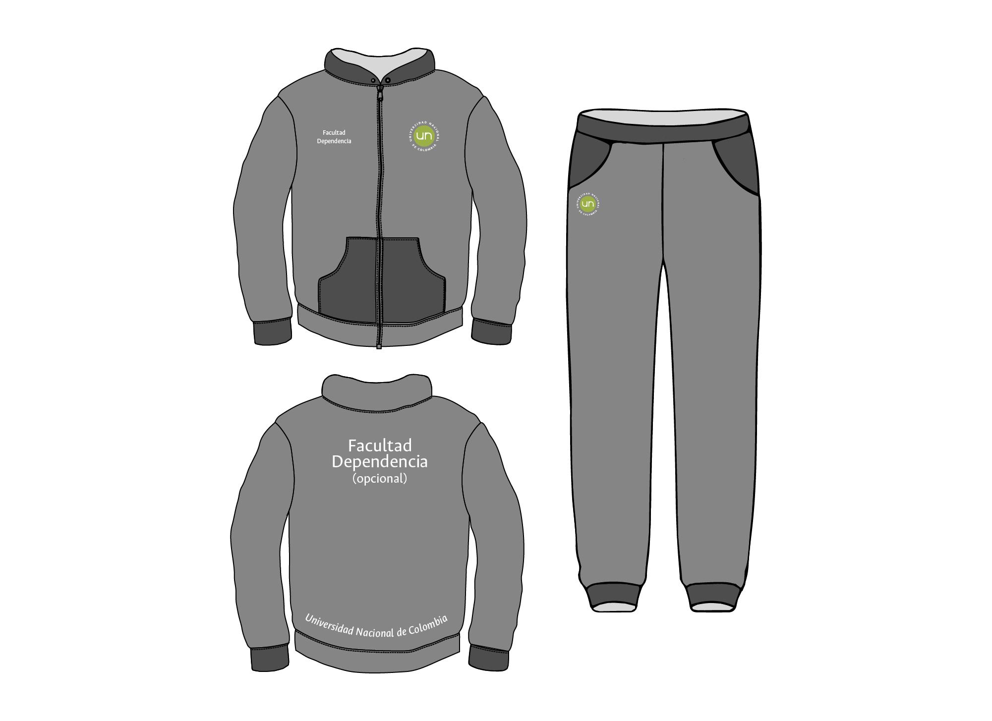 Aplicación del logotipo en indumentaria promocional y deportiva. Logotipo a 2 colores (verde y blanco)