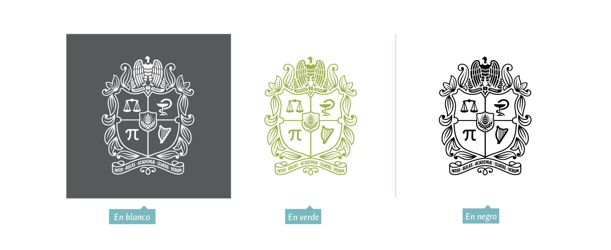 Versiones escudo institucional