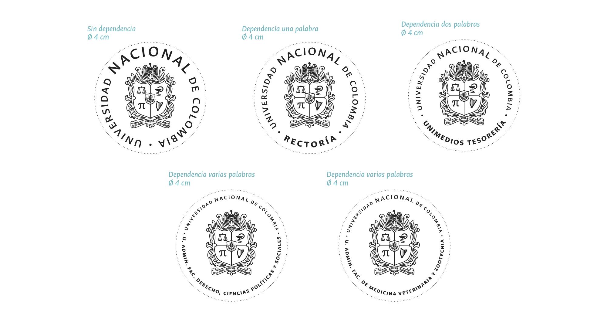 Modelos sellos circulares
